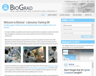 BioGrad Website