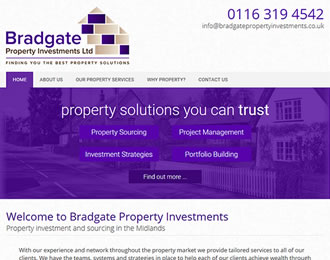 Bradgate Property Investments Website