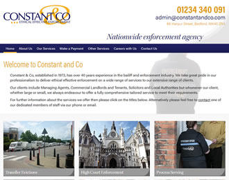 Constant & Co Website